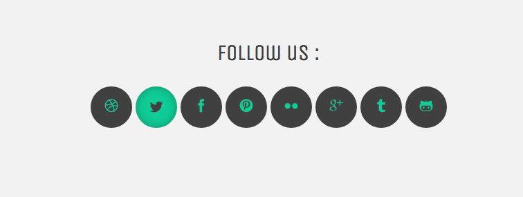 Анимация на CSS3 c использованием Icon Fonts